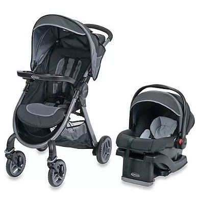 Cochecitos - Graco Travel System Fast Action Calibur 2.0 Graco