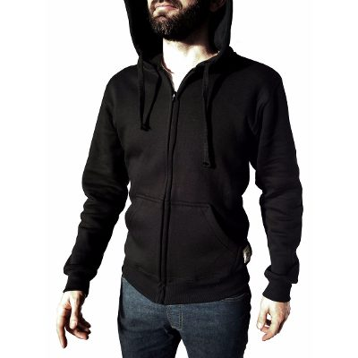 Buzos - Fuku-Do Campera Abrigada Friza - Black - Fuku-do