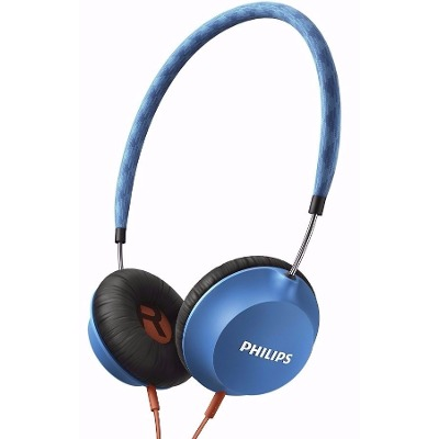 On-Ear - Philips Auriculares Philips SHL5100BL/00 Citiscape Strada