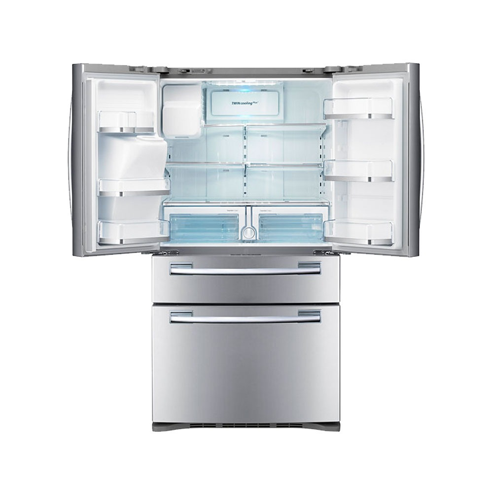 Samsung Heladera Side By Side Samsung French Door Acero Rfg28mesl1
