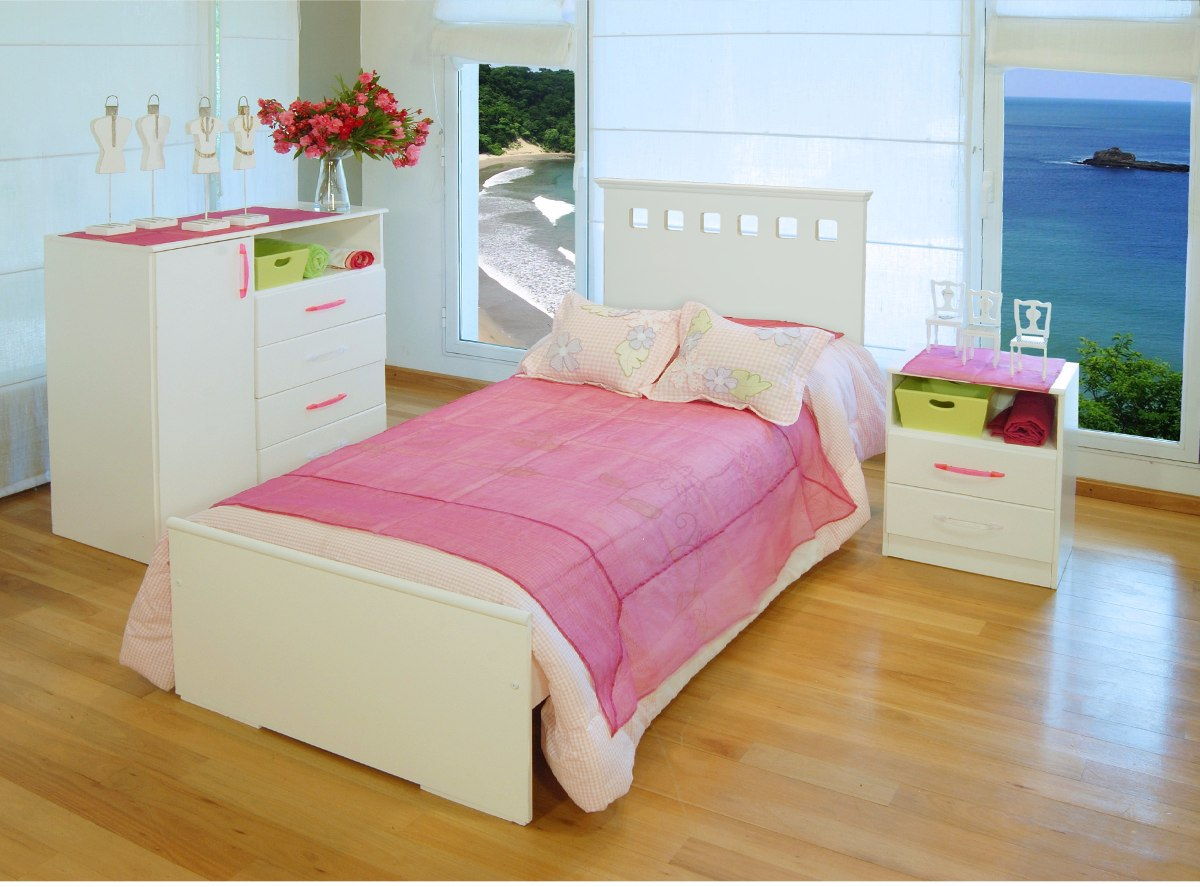 Cama De 1 Plaza Serie 5 Mueble Mosconi Blanco Baby Shopping | Baby ...