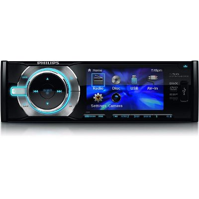 Philips Sistema De Audio Y Video Para El Auto Philips CED230/55
