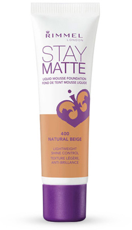 Bases - Rimmel Base Rimmel Stay Matte Liquid Mousse Foundation