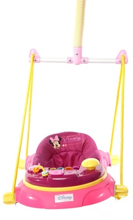 Muñecos - Baby Shopping Jumper Disney Minnie con luces y sonido
