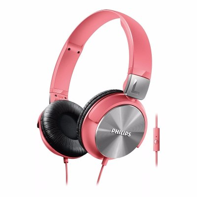 On-Ear - Philips Auriculares Philips SHL3165PK/00 Banda Sujetadora