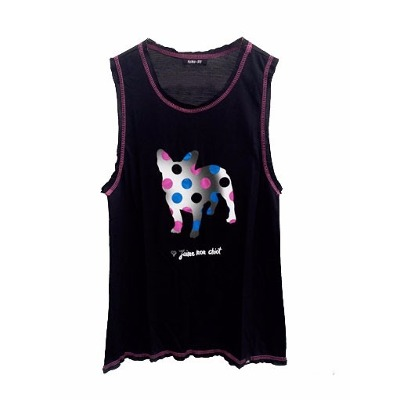 Remeras, Musculosas y Tops - Fuku-Do Musculosa Mujer Perrito Fuku-do