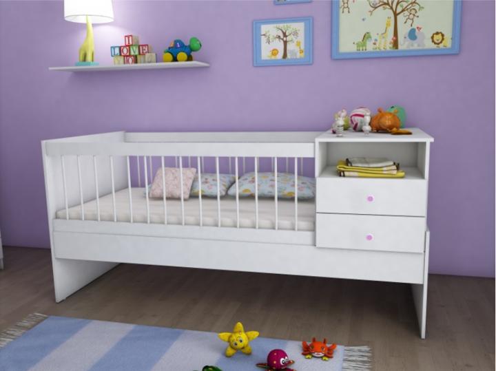 Cuna Funcional Blanco | Muebles
