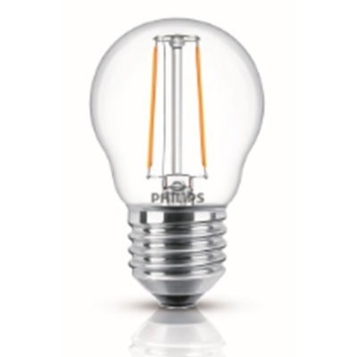 Philips Lampara Led Filament Philips 40w E27 Luz Cálida 929001258242
