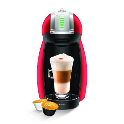 Moulinex Cafetera Moulinex Dolce Gusto Genio 2 Metal Red Pv160558