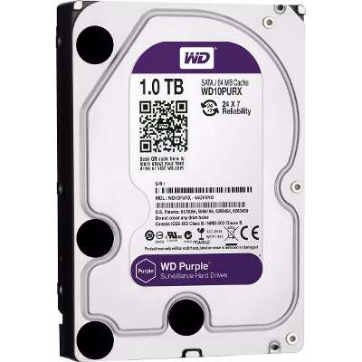 Western Digital Disco Rigido 1tb Purple Western Digital Dvr Seguridad Centro