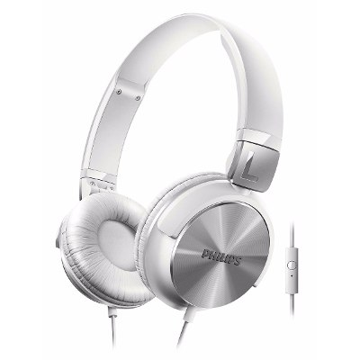 On-Ear - Philips Auriculares Philips Shl3165wt/00 Banda Sujetadora