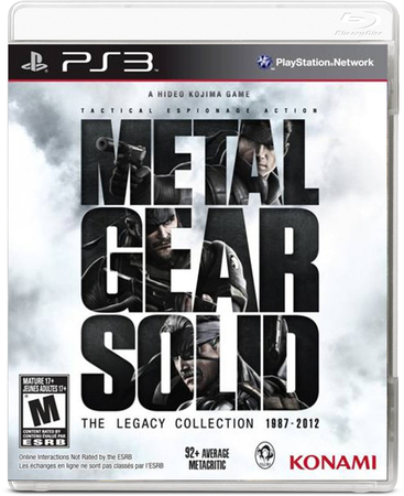 Avenida Store Metal Gear Solid: The Legacy Collection no Artbook para PS3