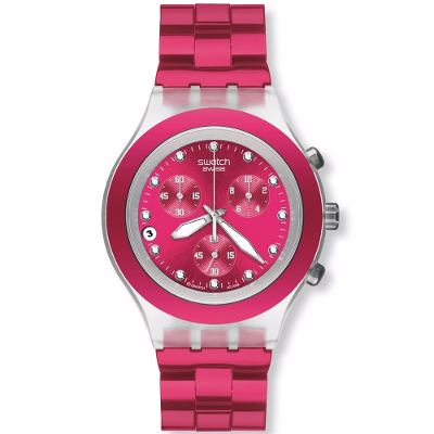 Relojes - Swatch Reloj Swatch Full-blooded Raspberry Svck4050ag