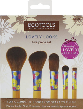 Brochas y pinceles - Eco Tools Set Lovely Looks Eco Tools