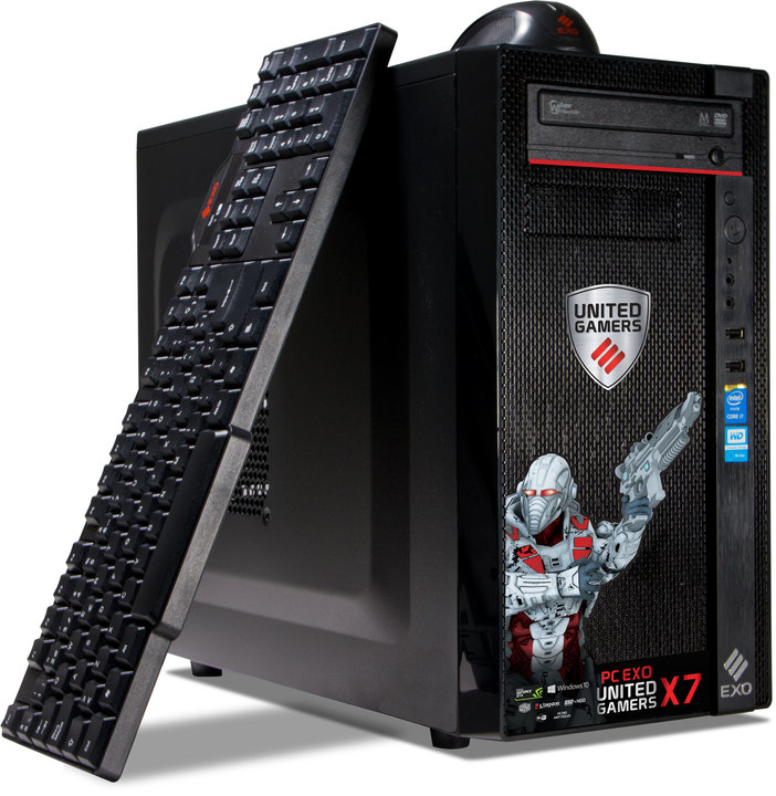 CPU - Exo PC EXO United s2 Gamers X7