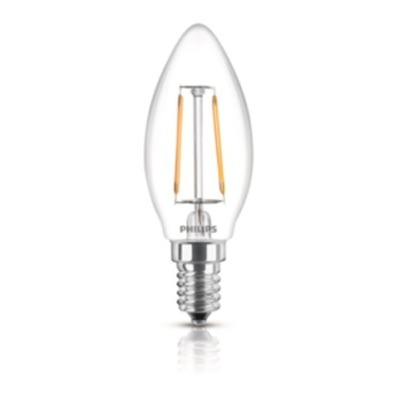 Focos LED - Philips Lampara Led Filament Philips 40w E14 929001258042