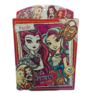Kreker Rompecabezas Ever After High 40 piezas Rebels
