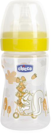 Mamaderas - Chicco Mamadera Chicco Wellbeing Fun 150 ml 0m+