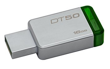 Pendrives - Kingston Pendrive Kingston DataTraveler 16GB DT50 USB 3.0