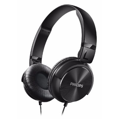 On-Ear - Philips Auriculares Philips Shl3060bk/00 Banda Sujetadora