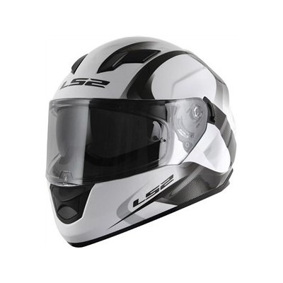 Cascos - LS2 Casco Integral 320 Stream Velvet White Grey Doble Visor