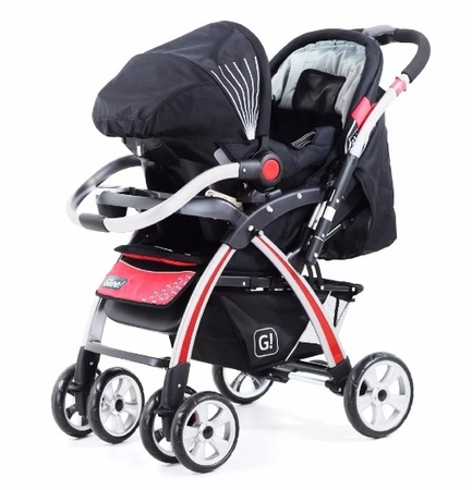 Cochecitos - Glee Travel System Glee con huevito A70TS