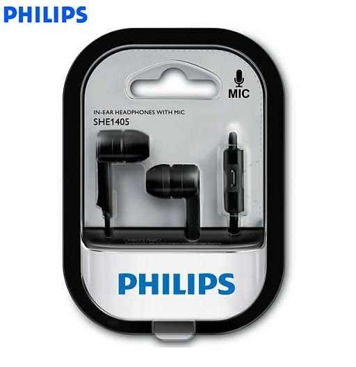 Image result for Philips SHE1405BK/94