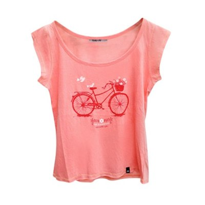 Remeras, Musculosas y Tops - Fuku-Do Remera Bicicleta De Mujer Fuku-do