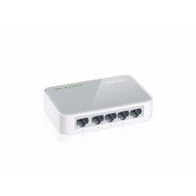 144 Shoes Switch 5 Puertos Tp-link Tl-sf1005d 10/100 Mbps 5 Bocas