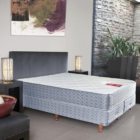 colch n y sommier de 200x200 elite de espuma con pillow. Black Bedroom Furniture Sets. Home Design Ideas