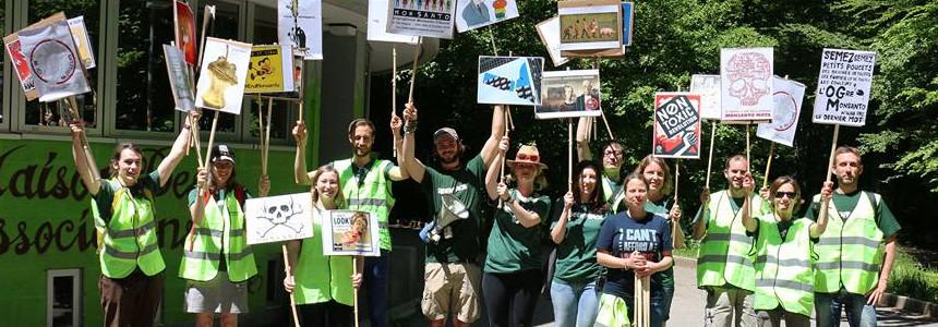 Photo du groupe regional de Greenpeace Vaud