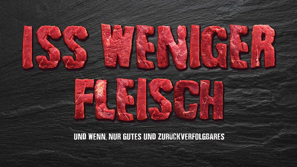 Schweizer Fleisch-Fachverband logo - Iss Weniger Fleisch
