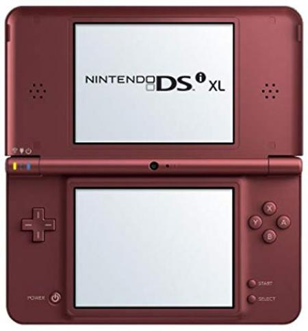 Dsi xl console burgundy for nintendo ds gamers paradise - List of nintendo ds consoles ...