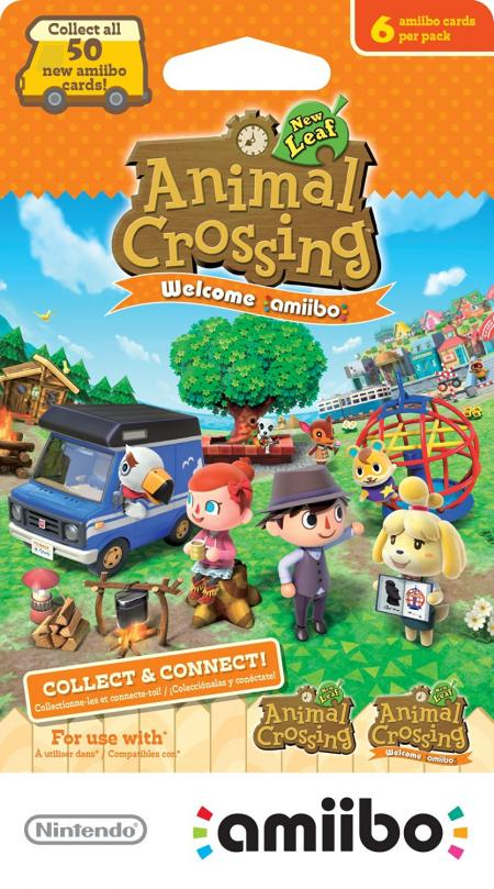 Animal Crossing-New Leaf Welcome Amiibo Cards (6 pack)