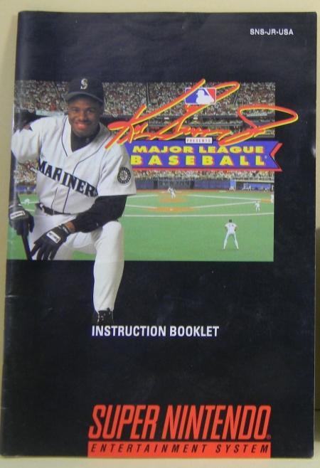 2825975966 Ken Griffey Jr. Presents Major League Baseball - Manual Only. Add to Wish  List. Be ...