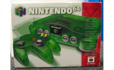 Nintendo 64 Console - Jungle Green for Nintendo 64 ...