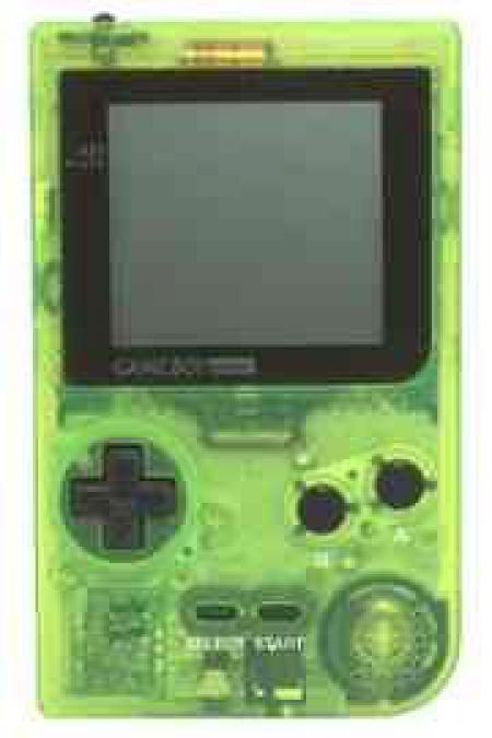 Game Boy Pocket - Extreme Green