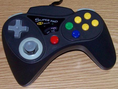 Performance Nintendo 64 Superpad