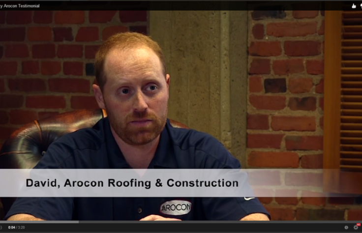 Kudos from Arocon Roofing & Construction