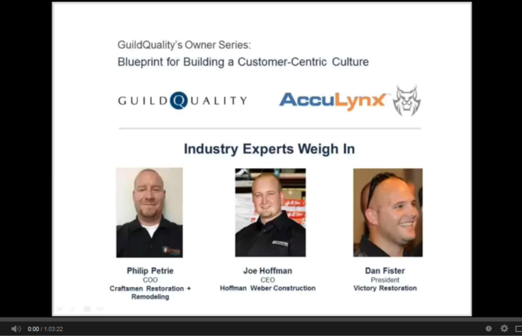 Recording Available: Blueprint for Building a Customer-Centric Culture