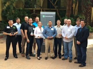 GuildQuality Attends James Hardie Contractor Summit to Announce Service Excellence Award Winners