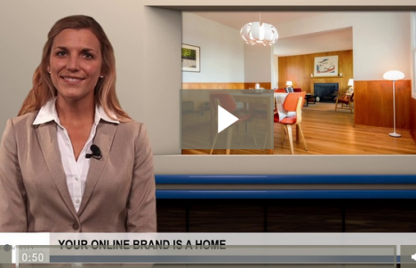 Building your brand's presence online is like building a home [VIDEO]