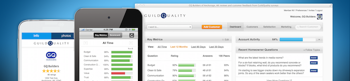GuildQuality Customer Surveys for Contractors