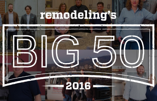 Remodeling's Big 50 of 2016
