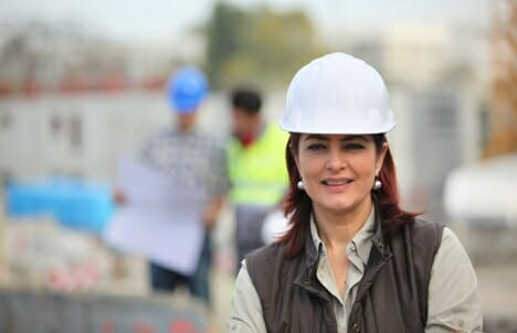 Building together: women in construction look to each other for support