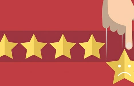 What to do about a negative review
