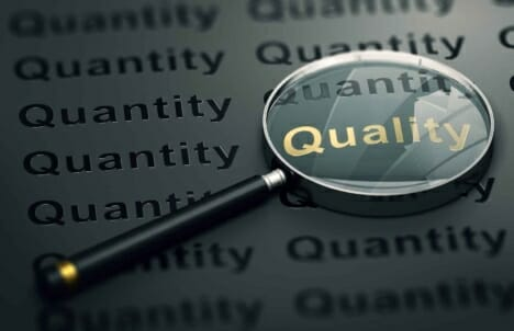 Customer reviews: quality over quantity?