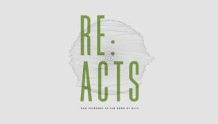 Re: Acts | Our Response to the Book of Acts – Lindale