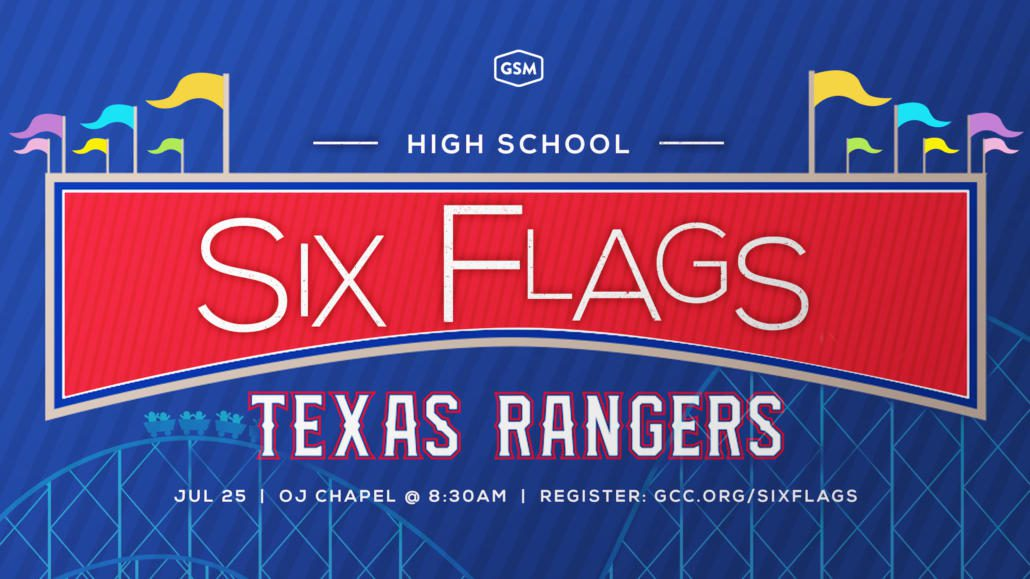SIX FLAGS & RANGERS GAME
