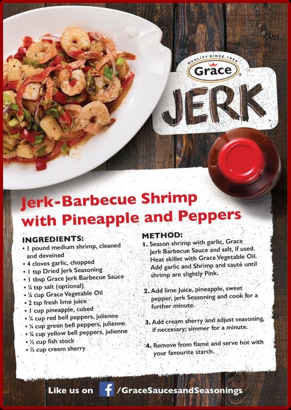 Jerk BBQ Shrimp Recipe
